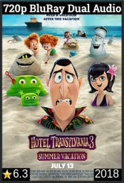 Hotel Transylvania 3 (2018) Dual Audio [Hindi-English] 720p BluRay Free Download